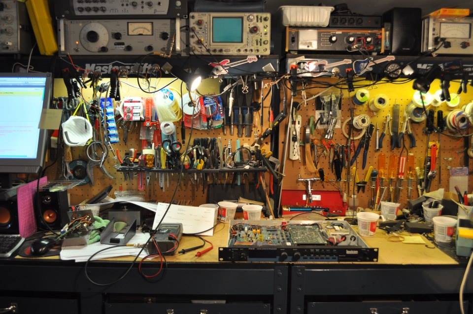 Workbench for Instrument Service & Repairs in Nanaimo